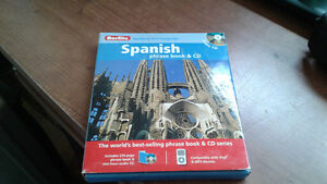 Spanish book and cd