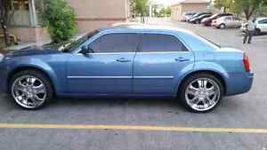 2007 chrysler 300 awd etested 22 inch rims stereo system