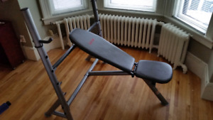 """Sublime"" weight bench"