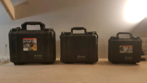 Brand new Pelican Protector cases