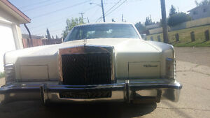 Lincoln Cartier 1979 continental