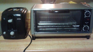 TOASTER OVEN AND TOASTER