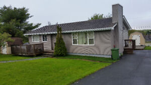 2 Bedroom House Flat for Rent in Lower Sackville with Heat Pump
