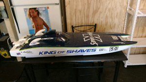 King of shaves rc gas boat