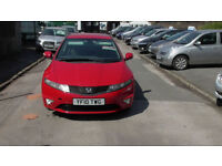 Honda Civic 2.2i-CTDi 2010MY Si 5 Doors , Low Millage, Mint condition