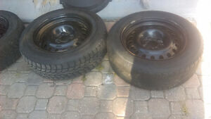 "4   17"" Stock Rims Used one winter"