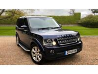 2014 Land Rover Discovery 3.0 SDV6 XS with Front and Rea Automatic Diesel 4x4