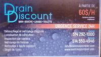 Plombier Drain Discount