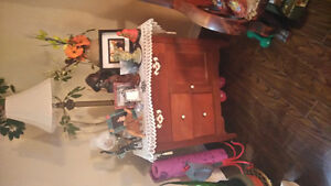 ANTIQUE DRESSER/CUPBOARD - BEAUTIFUL PIECE St. John's Newfoundland image 3