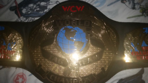 Wcw tag team replica belt!