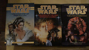 STAR WARS, 12 MINT TITLES HARD COVERS ($20.00 EACH)