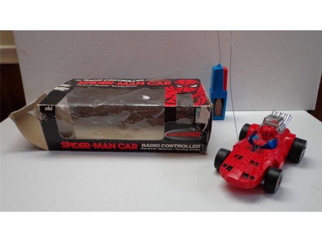 1977 RADIO CONTROLLED SPIDER MAN CAR BY AHI(MEGO SPIDER MAN) RARE.