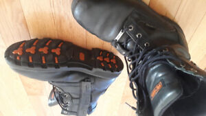 HARLEY DAVIDSON MENS LEATHER BOOTS