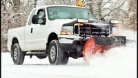 Snow plowing & removal services - seniors discount applicable!