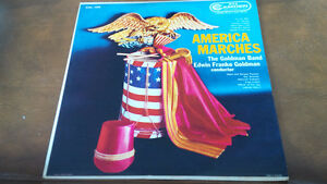 LP: America Marches, The Goldman Band