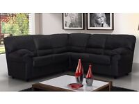 Classic design Candy sofas / 3+2 seater set or corner sofa in black, brown,cream or red