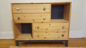 Pine Modern Sideboard / Chest / Drawers