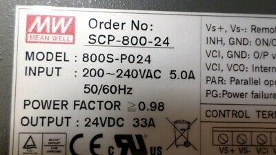Mean Well 800s-p024 Power Supply New In Box
