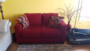 Moving Sale: Sofa, dining set, ikea chair, tredmill