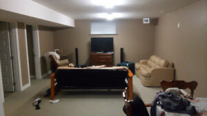 Furnished Pineview Basement suite Available Oct 1st