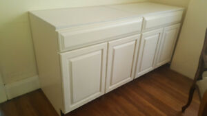 Kitchen Cabinets - Kraftmaid Piermont Maple Square in Canvas