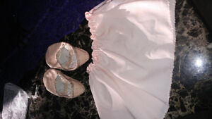 Ballet shoes and skirt