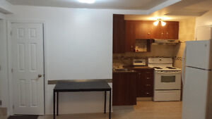 Renovated apt. fully furnished, everything included (heat,elect)