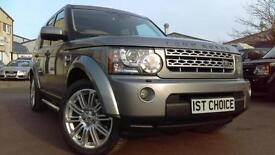 2011 LAND ROVER DISCOVERY 4 SDV6 HSE FANTASTIC ORKNEY GREY WITH CREAM LEATHE