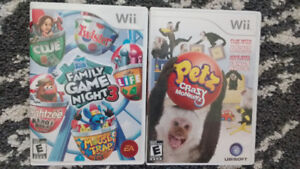 $2 for 2 Wii Games