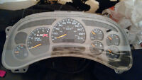 2003-2006 GM speedometer gauge cluster with trans temp gauge