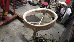 Wicker coffee table base West Island Greater Montréal image 2