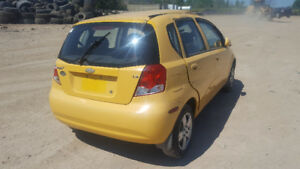 2008 AVEO . JUST IN FOR PARTS AT PIC N SAVE! WELLAND