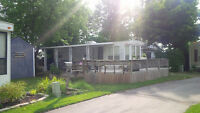 Bayridge 38ft Trailer on Beautiful Lakeview lot