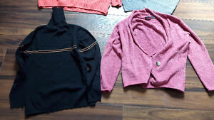 WOMEN'S SWEATERS AND SHIRT