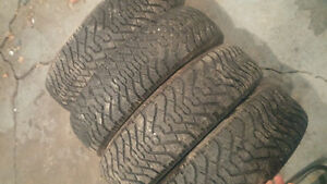 205/75 r14 goodyear nordic winter tires Kingston Kingston Area image 1