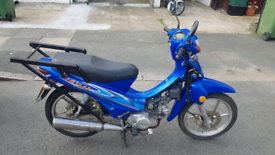Loncin lx110 moped