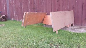 Fibreglass tonneau cover and plywood racks from '95 Ranger Kitchener / Waterloo Kitchener Area image 2