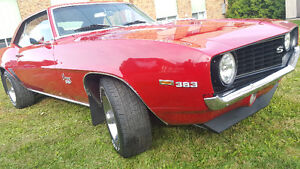 1969 CHEVY CAMARO SS 350 CLASSIC MUSCLE CAR