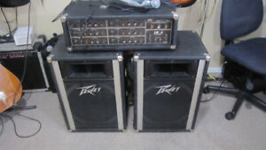 "Peavey XM 6  Power Mix & Peavey   15 "" speakers 115 6 channel"