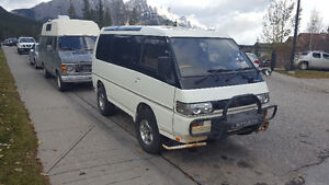 1994 Mitsubishi Other L300 Delica Exceed High Top Minivan, Van