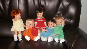 CANADIAN FORGIE FIVE DOLLS - $80