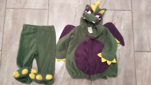 Dragon Costume in size 6-12 months