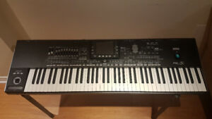 Korg Pa3x 76 Keys 256 ram with Stand, Gig Bag and Cover