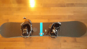 Planche a neige Rossignol + Fixation k2 + housse