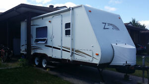 WANTED - Place to store trailer close to North Bay