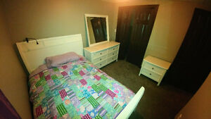 BEDROOM  SUITE   54 INCH MATTRESS