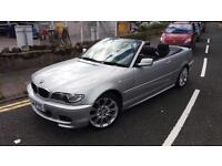 2006 56 BMW 318 2.0 CI M-SPORT CABRIOLET,CONVERTIBLE.ONLY 42000 MILES.FULL MOT.