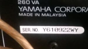 Système de cinéma maison yamaha