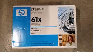 HP 61X (C8061X) Black High Yield Original LaserJet Toner Cartrid