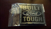 NEW! Ford Belt Buckle Built Ford Tough F150 (Brand New)